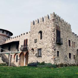 Ripristino facciate castello Calino